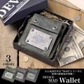 【新作】DEVICE MAD ホック付き折財布