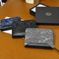 迷彩柄 サイフ ラウンドファスナー ミドル財布 DLM-835  全3色