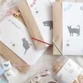 【黒ネコの紅茶】鈴のついたかわいい紅茶ギフト&お菓子セットギフト