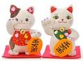 デコ招き猫ぬいぐるみ 19.5cm ねこ ネコ 商売繁盛 開運 お土産