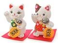 たこやきデコ招き猫ぬいぐるみ 19.5cm ねこ ネコ 商売繁盛 開運 お土産