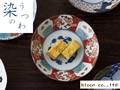 【染錦】錦金彩千鳥中鉢/16x4.5cm/MADE IN JAPAN