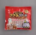 【ペット おやつ 犬】あらびきささみステーキ100枚