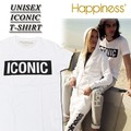 ◆お買い得春夏商材◆★大特価★Happiness ハピネス ユニセックス 半袖 Tシャツ<ICONIC>