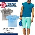 【激安!】◆お買い得春夏商材◆FRANKLIN&MARSHALL フランクリン むら染 ロゴ Tシャツ<ラスト1点>