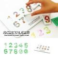【売り切れ次第終了】SCRIBBLERS ナンバーズ パズル スタンプ【ナチュラルライフ】【ハンドメイド】