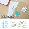 【売り切れ次第終了】SCRIBBLER ナンバーズ スタンプ(S)/(L)【キッズ】【ハンドメイド】