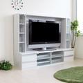 【7月7日以降順次出荷予定】テレビ台 テレビボード ゲート型 60インチ 大型テレビ対応 ホワイト