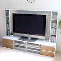 【予約販売8月中旬】テレビ台 ゲート型ハイタイプ 180cm幅 60インチTV  ナチュラルホワイト