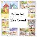 ◆英アソート対象商品◆【英国雑貨】英国デザインキッチンタオル Emma Ball(1)