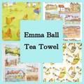 ◆英アソート対象商品◆【英国雑貨】英国デザインキッチンタオル Emma Ball(2)