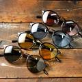 【2017 新作】 カラーレンズ ボストン サングラス / 丸 メガネ めがね 眼鏡 伊達 メンズ レディース ロイド