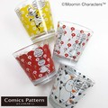 【MOOMIN Comics Pattern】ガラス食器