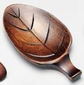 ■【漆器/茶み】木の葉茶み
