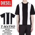 ◆お買い得春夏商材◆★大特価★DIESEL ディーゼル メンズ BIGストライプ Tシャツ<ラスト1点>