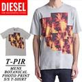 ◆お買い得春夏商材◆★大特価★DIESEL ディーゼル メンズ ボタニカルフォト Tシャツ<ラスト4点>