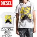 ◆お買い得春夏商材◆★大特価★DIESEL ディーゼル メンズ フラワープリント Tシャツ<ラスト1点>