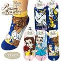 """レディース靴下  """"ディズニー"""" 美女と野獣"""