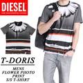 ◆お買い得春夏商材◆★大特価★DIESEL ディーゼル メンズ Tシャツ<FLOWER BORDER><ラスト2点>