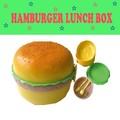 ハンバーガーランチボックス(丸型) * バーガー型のかわいいお弁当箱♪