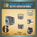 【新作】 ナバホ スタイル リング 指輪 幅広 ブラス ハンドメイド ネイティブ 真鍮 ユニセックス