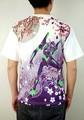 【EVA×錦】コラボ  初号機×雅桜 刺繍 Tシャツ