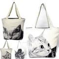 【人気のネコ♪】いっぱい入る大きめバッグ CAT