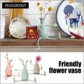 【アントレックス】ユニークな花瓶で植物も可愛く変身♪【フレンドリーベース フロリーノ】