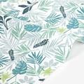 【生地】【布】【コットン】In the tropics - leaf デザインファブリック★50cm単位でカット販売