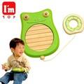 「知育玩具」(木のおもちゃ) I'mTOY「どうぶつ音楽会 フロッグ」