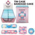 バンデージ ティンケース ケーキ 絆創膏 キッズ ばんそうこう かわいい アメ雑 アメリカン雑貨