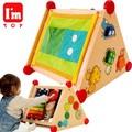 「知育玩具」(木のおもちゃ) I'mTOY「指先レッスンボックス」