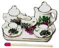 ミニチュア 陶器◆ティータイム洋風シリーズ【ミニチュア食器・ドールハウス】