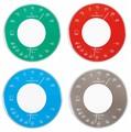 【クリアボディの温湿度計】セレナカラー温・湿度計