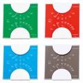 【クリアボディの温湿度計】エルムカラー温・湿度計