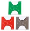 【クリアボディ】エルムカラー温・湿度計