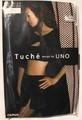 【セール品】[グンゼ]トゥシェ・デザインバイうのパンスト・ミックスストライプ柄