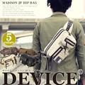 全色到着!◆DEVICE マディソン 2P ヒップバッグ