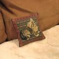 【フランスの優雅な織物】ゴブラン織り ミニクッション