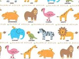 ギフト包装紙 アフリカ