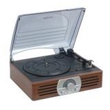 【信頼のOHMブランド】レコードプレーヤー付きコンポ。ラジオとレコードがこれ1台でOK!