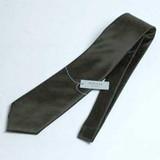 【弔事用】シルク100%の黒ネクタイ【無地柄】:【日本製】