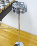 【アントレックス】クロームに輝く定番のスタンド灰皿!単体も◎【カンアシュトレイ 】全3種