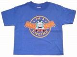 トーマス キッズTシャツ 123 ロイヤルブルー