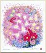 ★開運グッズシリーズ★【開運花風水・本物のシルクスクリーン版画】赤い花