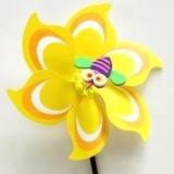 【おもちゃ・景品】『カラフルでかわいい虫さん付き風車 G-663』