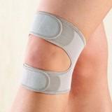 スタイリッシュ 膝ベルト アウターにひびかない!超薄型のメッシュ素材