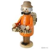 ドイツのマスターが作り出す手作りの人形香炉◆パイプ人形ミニ◆