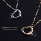 Forever Ultra-Fine Chain Otome Forever Motif Popular Heart Necklace