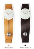 【直送可】【売れ筋振り子シリーズ】スタンダード電波振り子時計